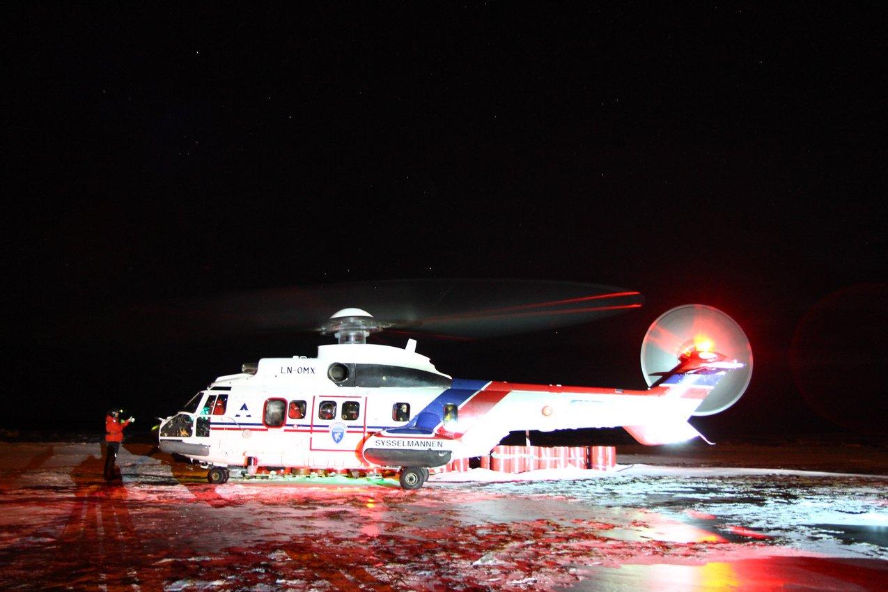 Śmigłowiec Gubernatora Svalbardu