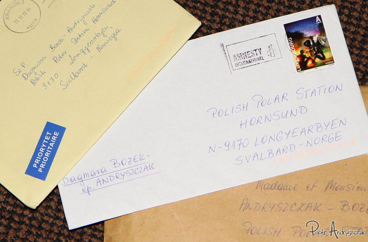 Listy od bliskich i znajomych