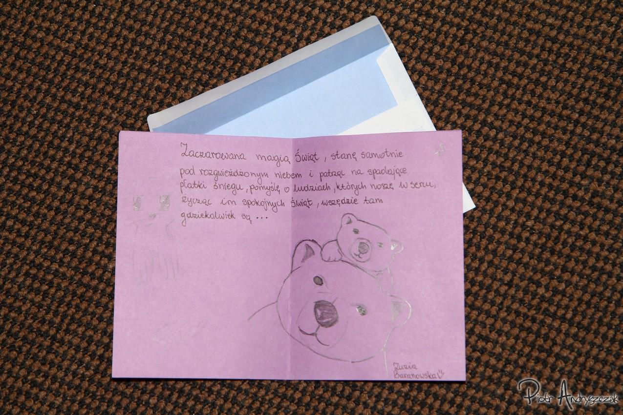 List od uczennicy z Lęborka