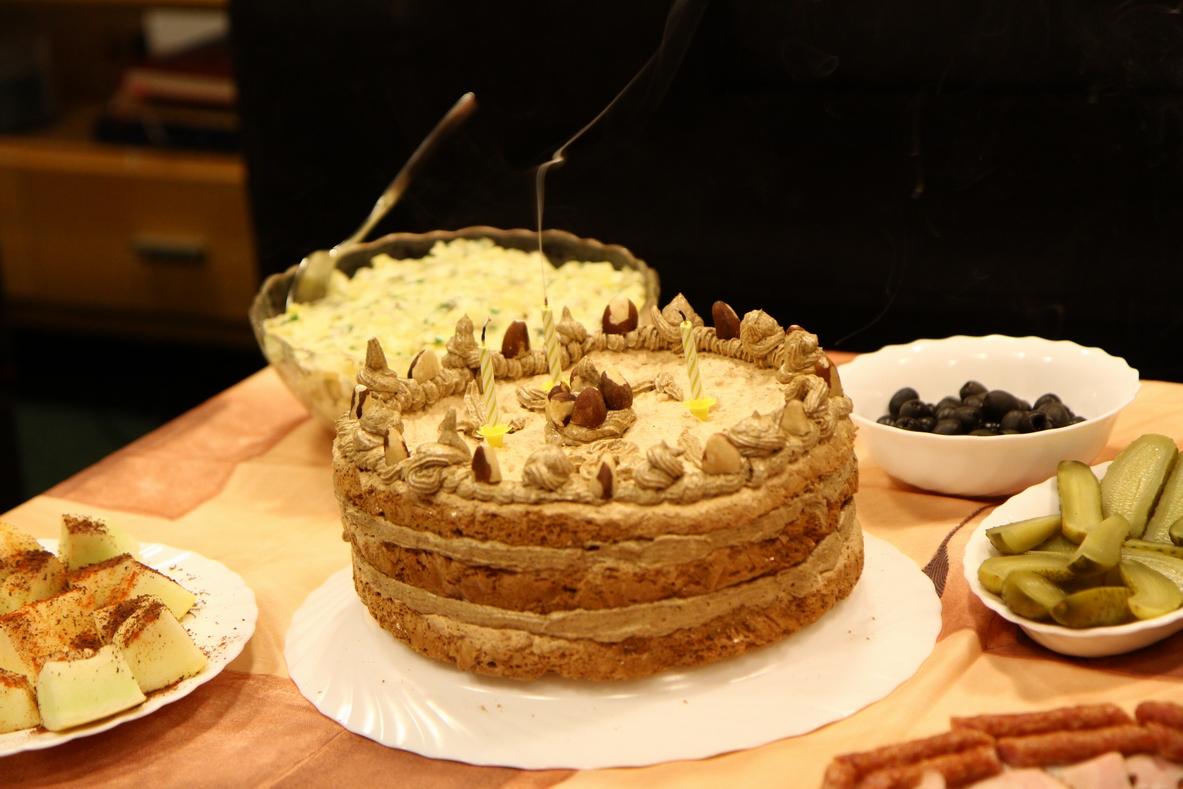 Tradycyjny tort według przepisu Cioci Grażyny