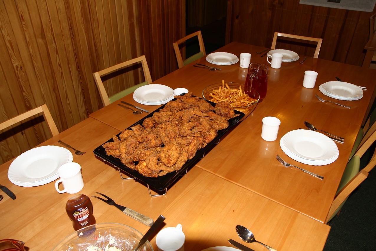 Skrzydełka a'la KFC na obiad :)