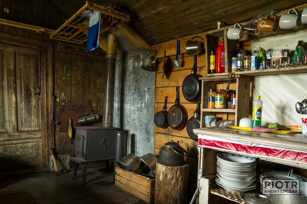 Wnętrze husa w Hyttevice