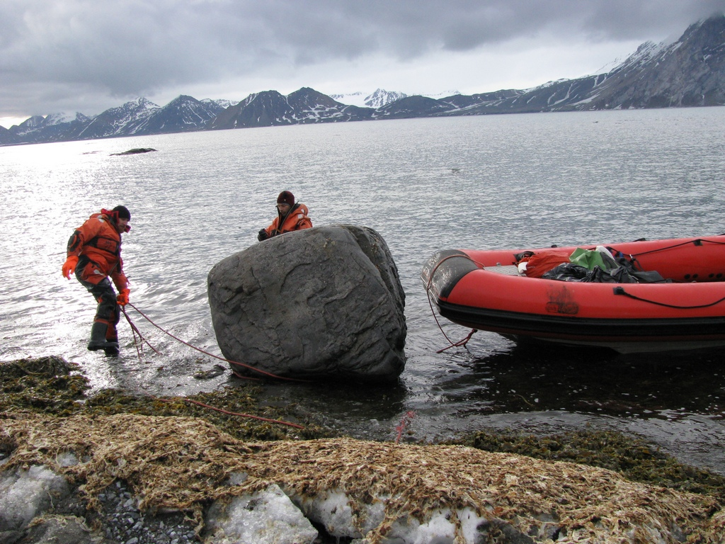 Cumowanie pontonu