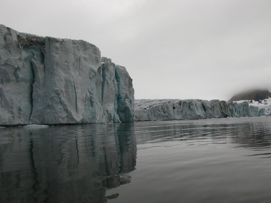 Widoki w głębi fiordu