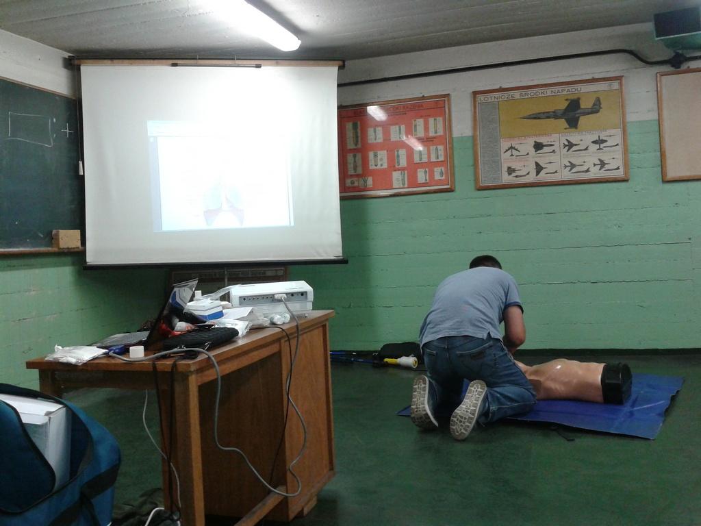 Szkolenie z podstaw ratownictwa medycznego