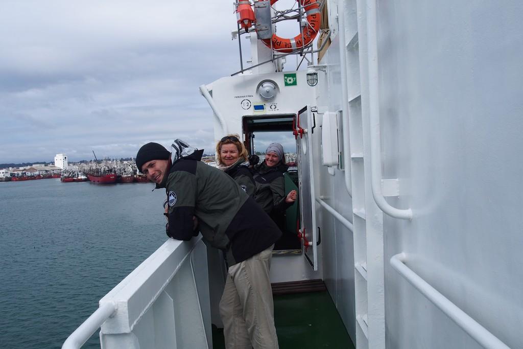Wpływamy do portu