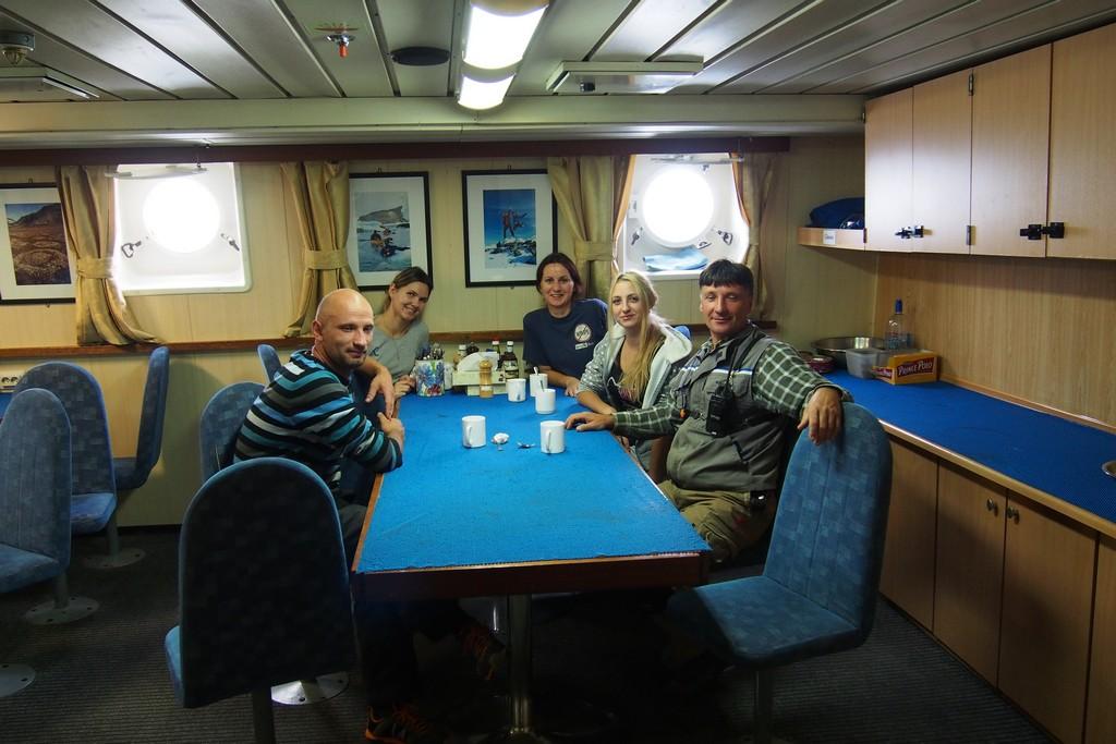 Część rosyjskiej załogi