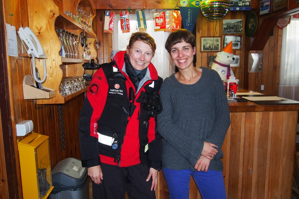 Z Lindą, guidem z Frama