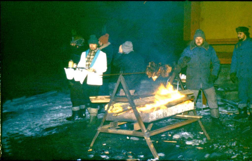 Świąteczny grill, fot. J. Sacewicz