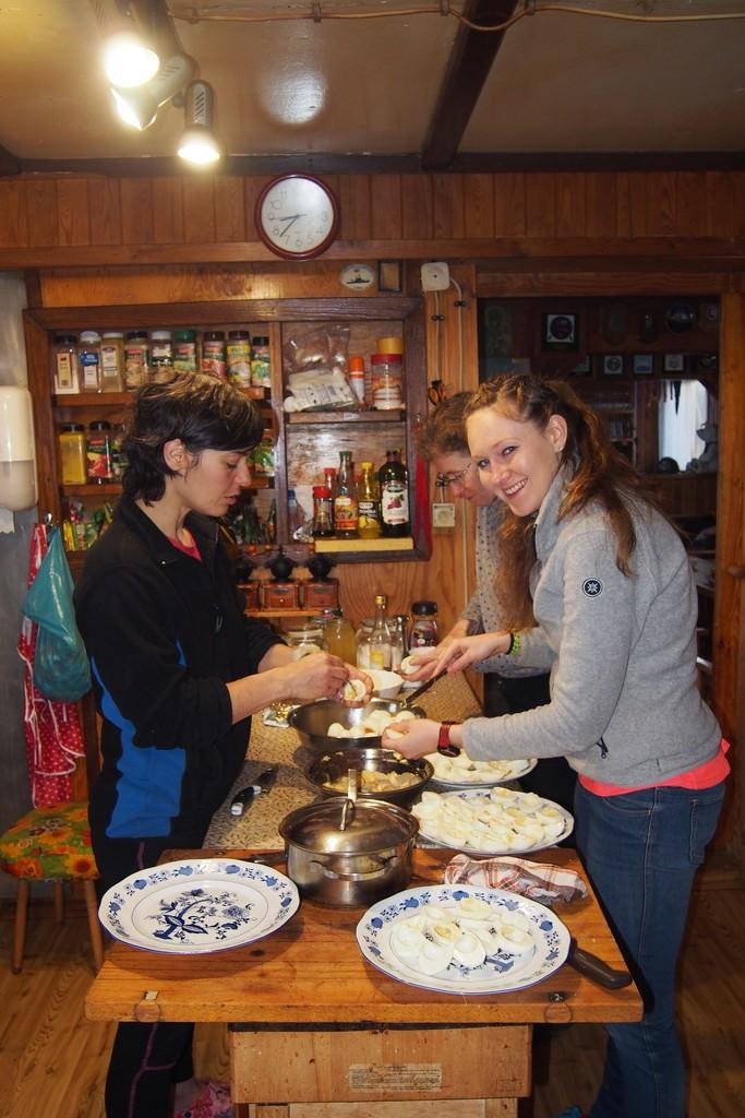 Faszerowanie jajek