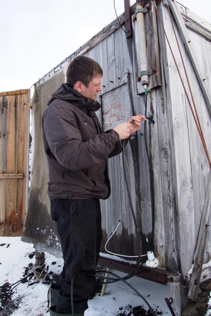 Podłączanie przerobionej starej anteny