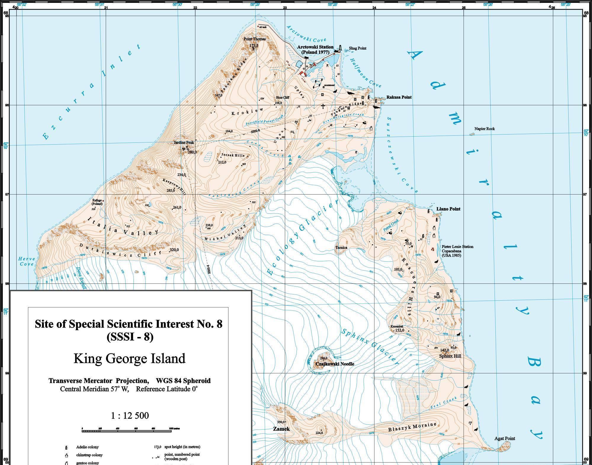 Mapa okolic Stacji