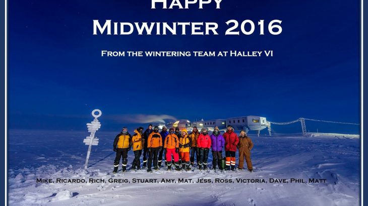 Midwinter Greeting z Halley 6