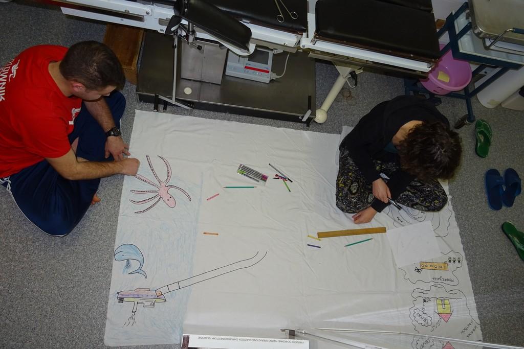 Ambulatorium wyzwala kreatywność
