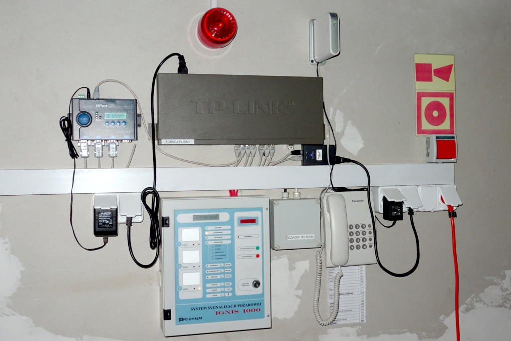 Centralka i inne urządzenia