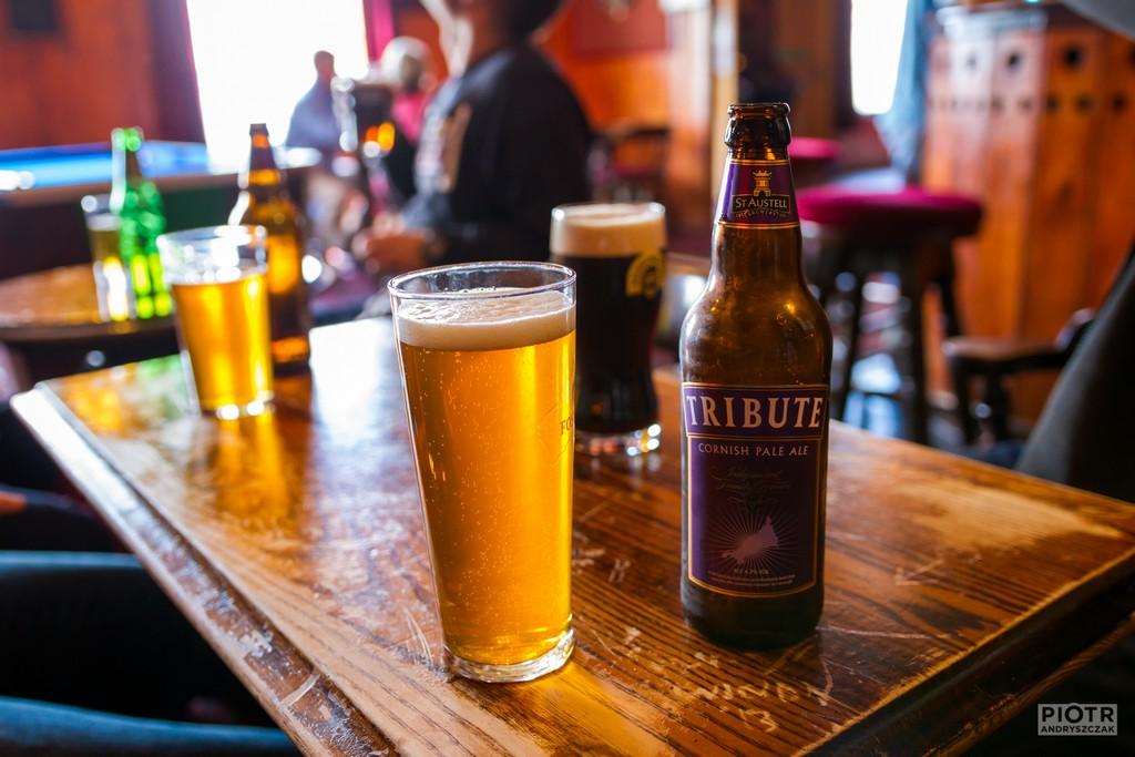 Pierwsze piwo w cywilizowanych warunkach