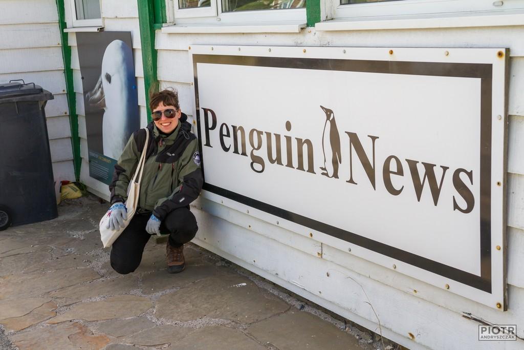 "Pod redakcją ""Penguin news"""